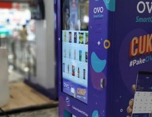Custom Vending Machine OVO di Jakarta