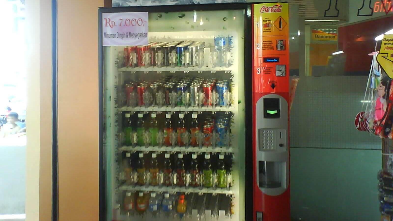 vending machine minuman indonesia