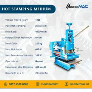 Mesin Hot Stamping Foil