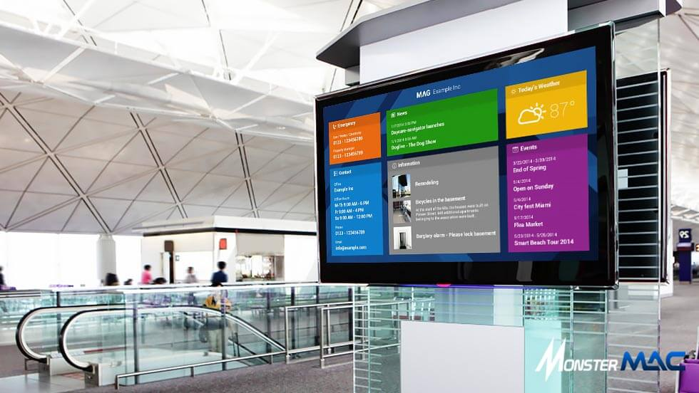 Pengertian Digital Signage