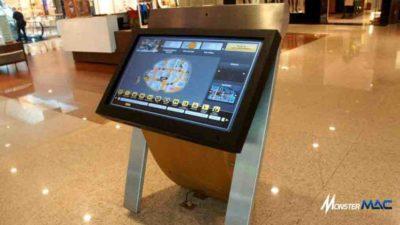 kiosk touchscreen