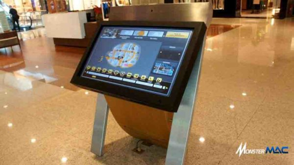 kiosk touchscreen