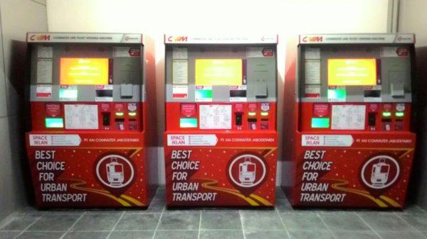 vending machine tiket kereta