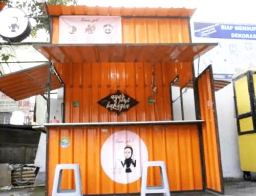 Usaha Kuliner Lebih Mudah Dengan Booth Container