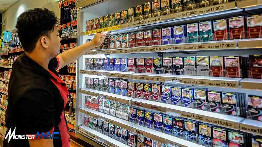 vending machine rokok