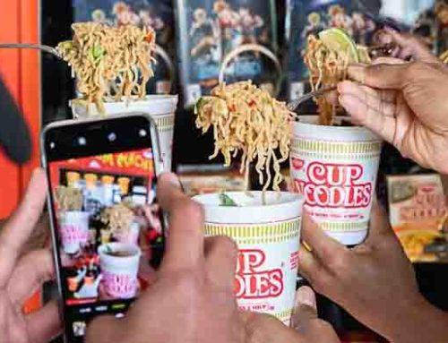 Bisa Makan Gratis Mie Instan di Vending Machine Jepang