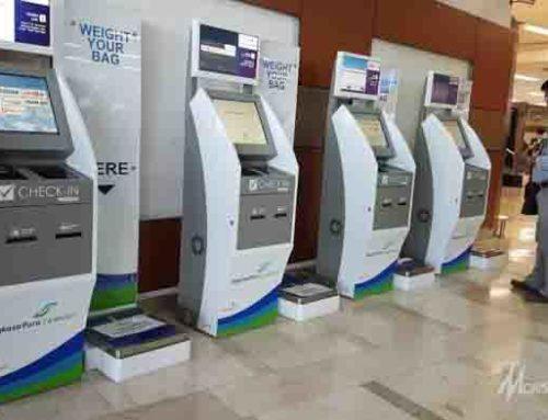 Self Service Kiosk di Bandar Udara Indonesia