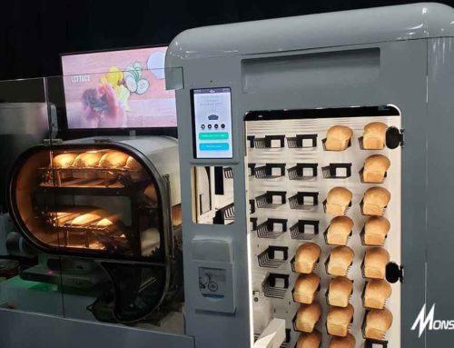 Vending Machine Roti di Amerika, Buat Roti Otomatis