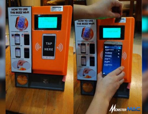 Vending Machine Wifi: Mudahkan Pengguna Smartphone Saat Travelling