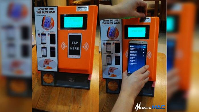 Vending machine Wifi