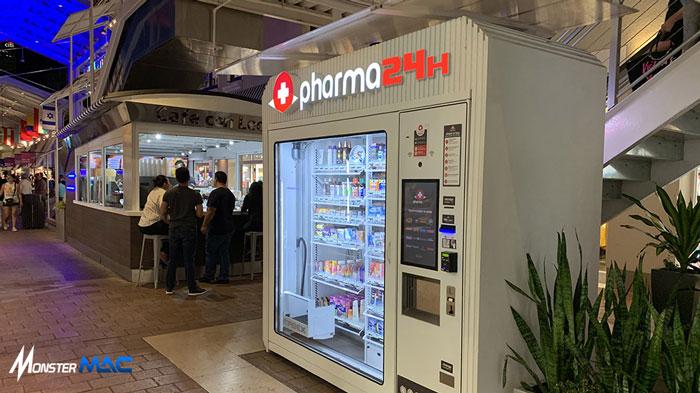 vending machine obat