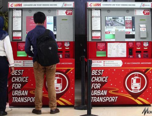 Vending Machine Tiket, Kurangi Penumpukan Antrian Penumpang di Loket