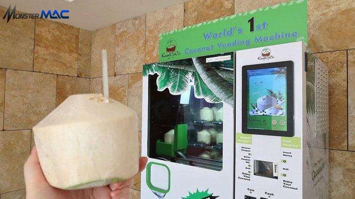 Vending Machine kelapa muda
