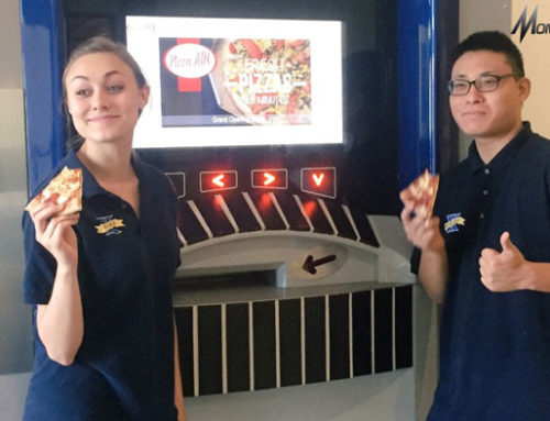 Bukan Lagi Keluarkan Uang,ATM Ini Sediakan Pizza Hangat selama 24 Jam