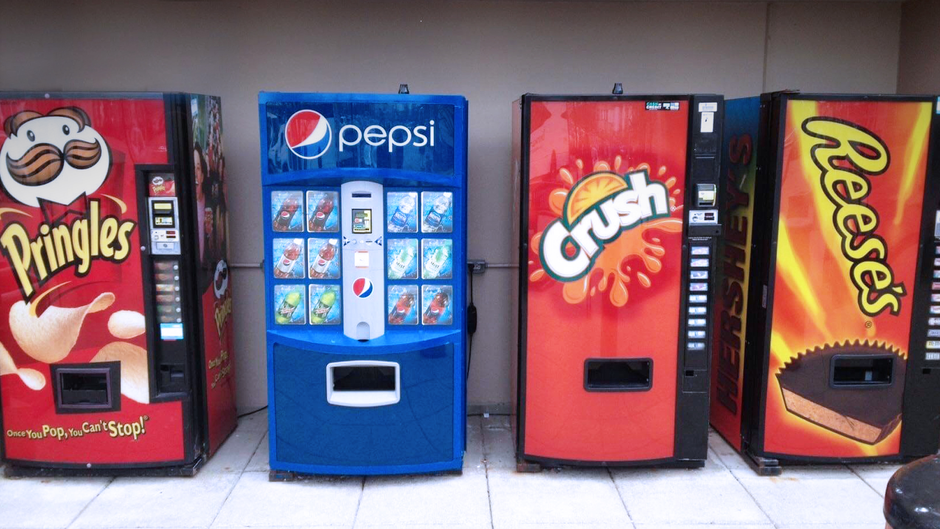 Jenis vending machine unik