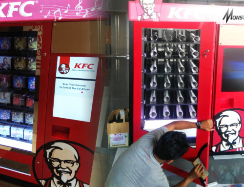 Teknologi Masa Depan : Smart Vending Machine