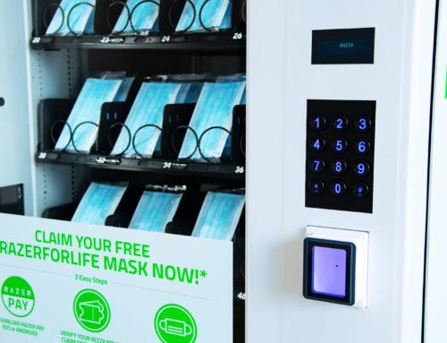 Vending Machine Masker di Singapura, Solusi Atasi Covid-19