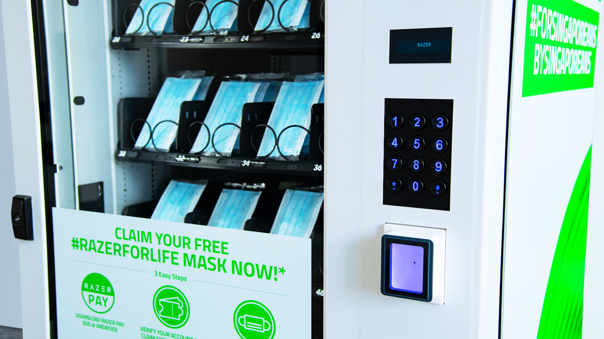Vending Machine Masker