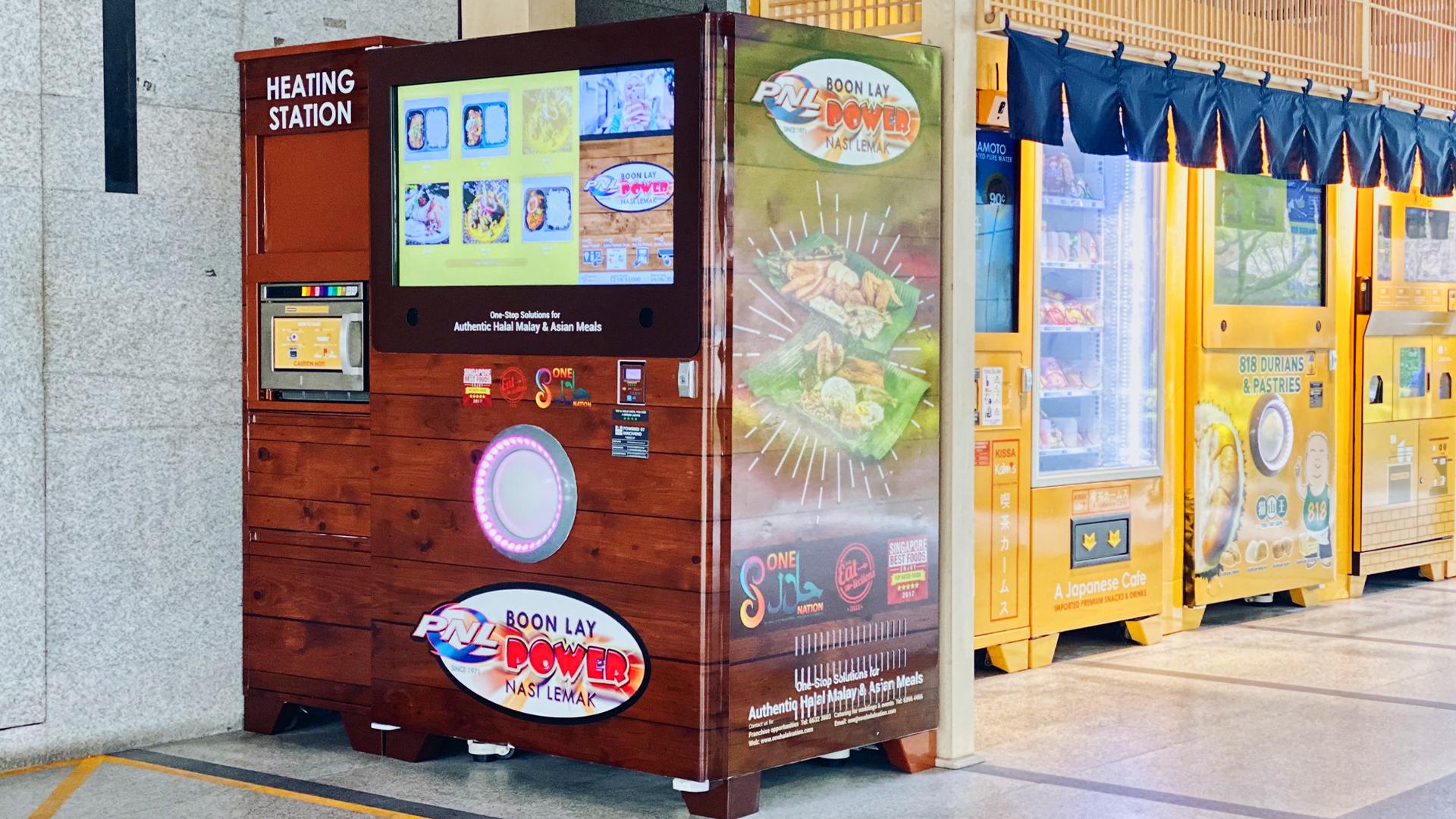 Keren! Beli Nasi Lemak Sekarang Bisa Lewat Vending Machine