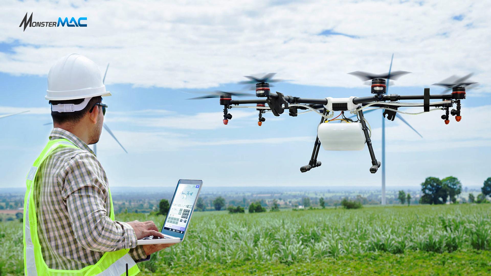 Drone Sebagai Teknologi Pertanian Bantu Petani Kerja Lebih Cepat