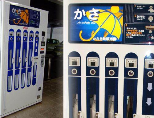 Vending Machine Payung, Gak Takut Lagi Kehujanan Dalam Perjalanan