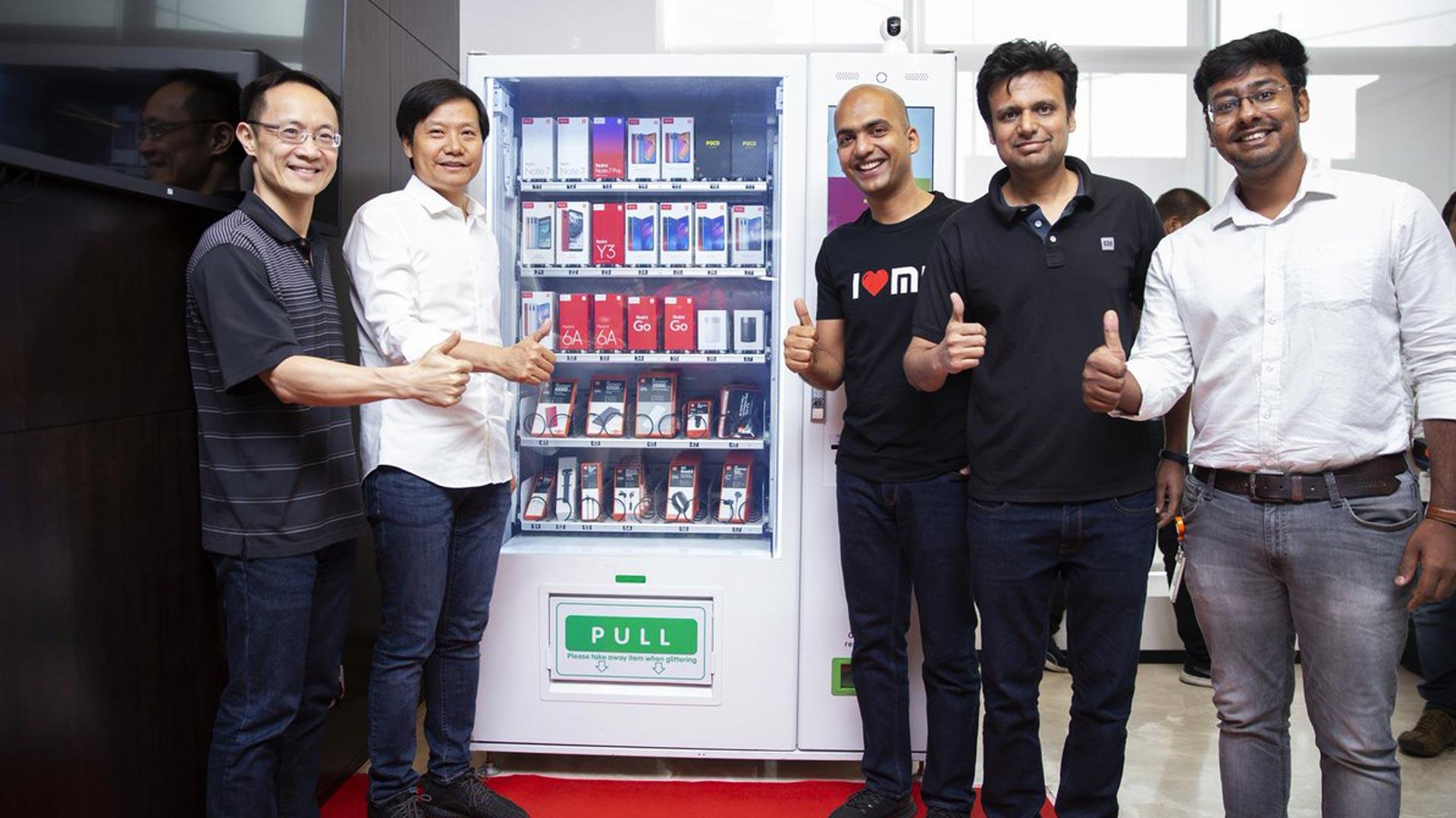 xiaomi vending machine
