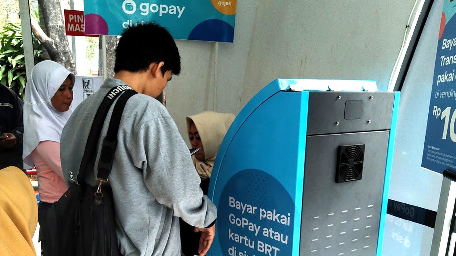 vending machine gopay