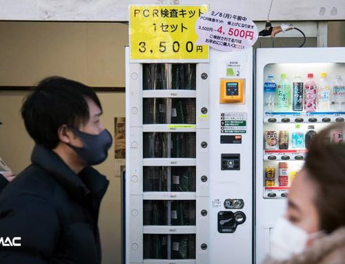 Multifungsi, Vending Machine ini Bisa Jual Alat Tes Covid