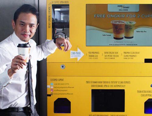 Vending Machine Coffee Praktis dan Otomatis, Gak Perlu Bayar Gaji Karyawan
