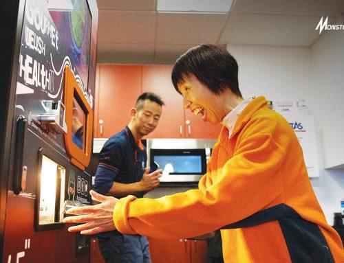 Vending Machine Ramen, Cara Praktis Beli Ramen Anti Salah Tulis Pesanan