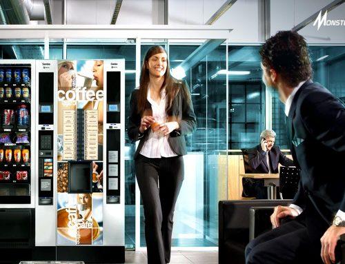Kehadiran Vending Machine di Kantor berikan Dampat Positif bagi Bisnis